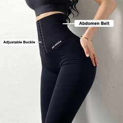 Twinso Slimming Pants Women Sports Legging Waist Trainer Lift Up Butt Lifter Sexy Shapewear Tummy Control Panties Winter Trouser