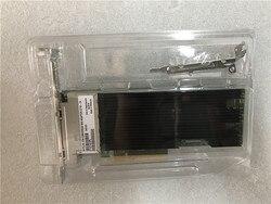 Getrokken X710-T4 4-Poort 10GbE RJ45 PCIe 3.0x8 Geconvergeerde Netwerk Adapter met Full/Half size Bracket