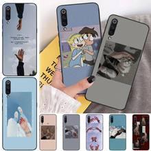 MayDaysmt Holding hands Black Soft Shell Phone Case Capa For Xiaomi mi 6 6plus a2 8 8se a2lite 8lite 9 9se mix2 holding hands