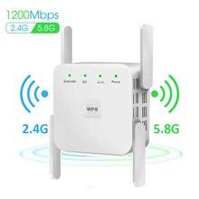 אלחוטי WiFi משחזר Extender 2.4G/ 5G WiFi בוסטרים 300/1200Mbps מגבר גדול נתב טווח אות repeator AC Ultraboost