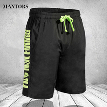 Men Clothing Shorts Sport-Pants Pocket Active-Wear Elastic Homme Quick-Dry Beach Masculina