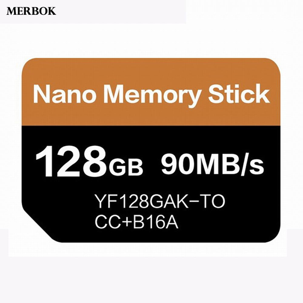 NM Card Nano Memory Card For Huawei Mate20/P30 Pro 128GB 90MB/S NM-Card With USB3.0 Gen 1 Type-C Dual Use TF/NM Card Reader