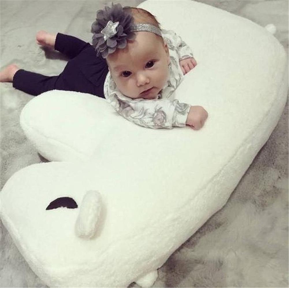 Multifunctional Baby Nursing Pillow Cartoon Pillow Baby Anti-Overflow Cushion