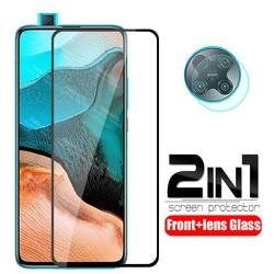 На Алиэкспресс купить стекло для смартфона for xiaomi mi poco f2 pro glass 2 in 1 camera lens protective glass on xiomi mi poco f2 pro pocof2 f2pro screen protector film