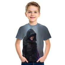 Star Wars 3D Print Cool Kids Men/Girls Tops Short Sleeve T-S