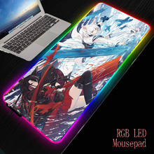 Game Mouse pad Kaga Azur Lane 3D Breast Silicone Soft Play Mat Wrist Rest