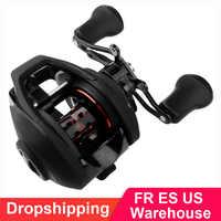 BF2000 Baitcasting Reel High Speed 7.2:1 Gear Ratio 12+1BB Fresh/Saltwater Magnetic Brake System Ultralight Fishing Reel