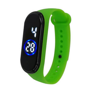 Saatleri Sports-Watch Hot-Clock Wrist Digital Retro-Design Silicone Waterproof Fashion