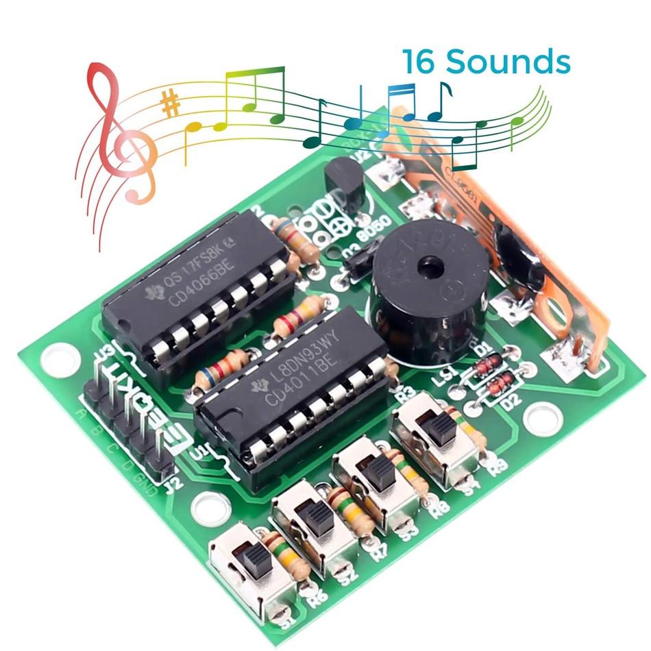 Diy Elektronische 16 Music Sound Box Diy Kit Module Solderen Praktijk Learning Kits Voor Arduino 1
