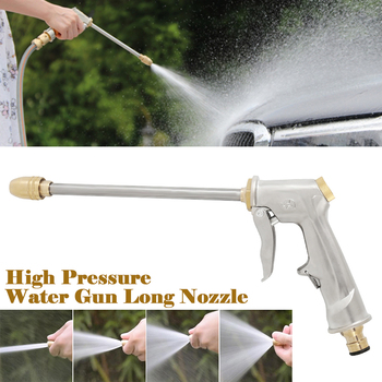 Wysokociśnieniowa pistolet na wodę myjnia samochodowa Jet do nawadniania ogrodu dysza węża do mycia opryskiwacz podlewanie zraszacz do czyszczenia tanie i dobre opinie Dysze WRTY345 Zmienna kontroli przepływu Metal Ze stopu cynku