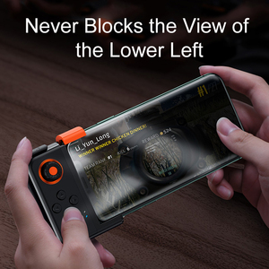 Image 2 - Baseus PUBG Mobile Gamepad Wireless Joystick Game Controller Bluetooth Joystick For IOS Android Mobile Phone Game Pad GAMO