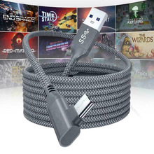 5M Charging Cable Data Line for Oculus Quest 1/2 Link VR Headset USB 3.0 Type C Data Transfer Type-C To USB-A Cord VR Accessorie