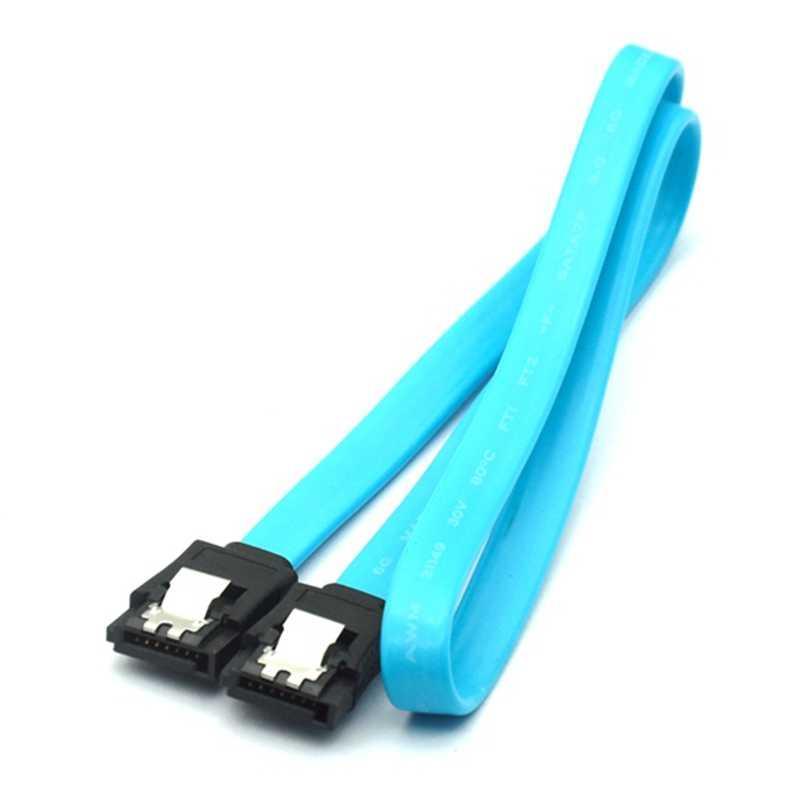 90 Góc SATA 7Pin Máy Tính Dây Cáp Và Đầu Nối 45CM SATA 3.0 III SATA3 6Gbps SSD dữ Liệu Trực Tiếp Cáp