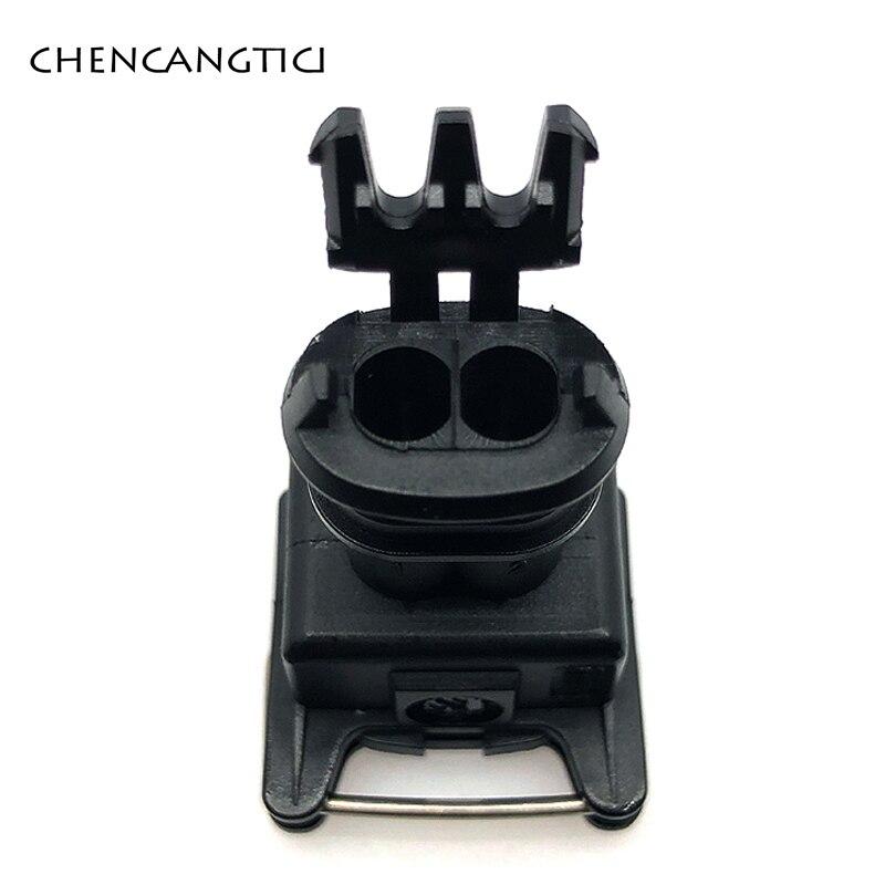 2 комплекта 2-контактный/способ топлива водонепроницаемый EV1 Автомобильный Электрический разъем 282189-1 282762-1 топливная заглушка инжектора для Denon
