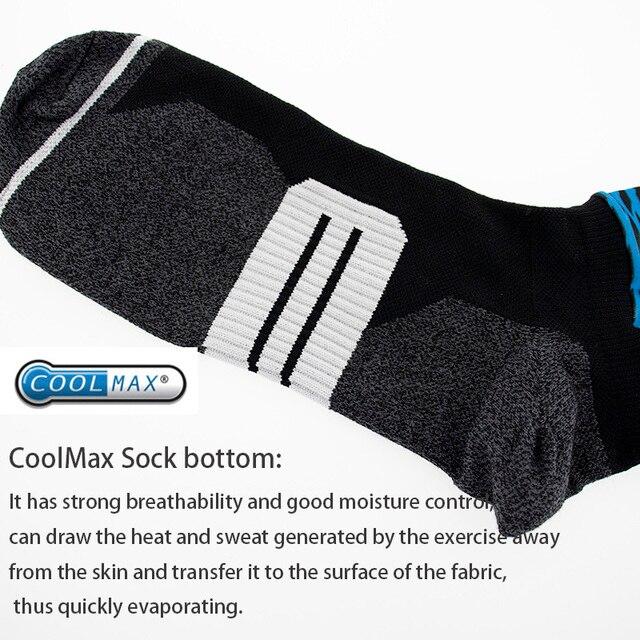 Anti derrapante profissional bicicleta meias meias de compressão esporte meias de rua esportes meias de corrida ciclismo 6