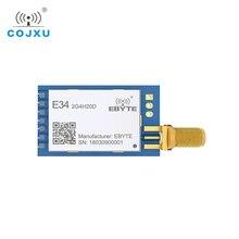 E34 2G4H20D nRF24L01 2,4G de frecuencia automática de salto de largo alcance Módulo Transceptor Inalámbrico de retransmisión automática