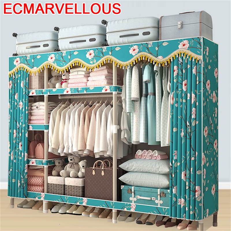 Ropa Armario Tela Home Garderobe Dresser For Moveis Storage font b Closet b font Cabinet Bedroom