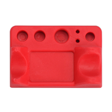New Red Durable Silicone Tattoo Tool Pen Holder Stand For Makeup Tattoo Accessories
