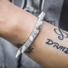 Iced Out Spiked Bracelet Dad Jewelry