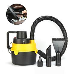 Universal Vacuum Cleaner With Powerful Suction: Wet Dry Canister Vacuum Cleaner 12V 60W High Power Portable Car Vacuum Cleaner