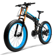 EU Quality 26 Fat Folding E-bike 1000W Foldable Electric Bike Bicycle 13AH Panasonic Battery