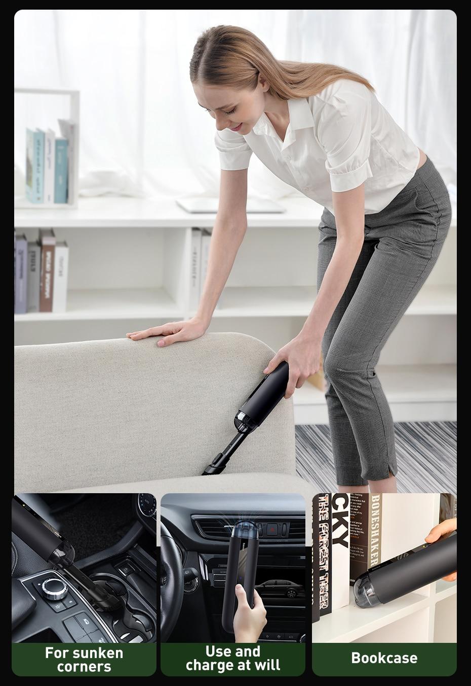 Baseus A2 Car Vacuum Cleaner  7