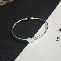 S925 sterling silver fashion open bracelet women accessories