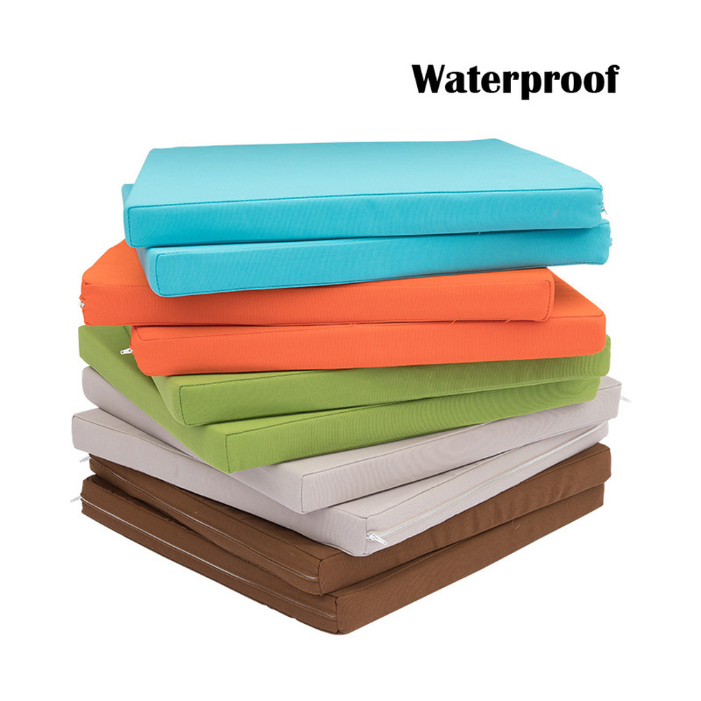 18 inch waterproof outdoor indoor furniture cushions replacement deep seat cushion back cushion for patio chair furniture