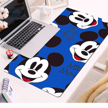 Hot Sell Extra Large Mouse Pad Mickey Gaming Mousepad Anti-slip Natural Rubber with Locking Edge Mat Desk mat