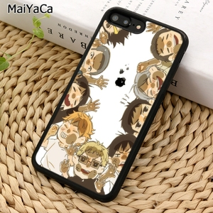 MaiYaCa Volleyball HAIKYUU NEKOMA Jersey Phone Case For iPhone 5 6S 7 8 plus 11 Pro X XR XS Max Samsung Galaxy S7 S8 S9 S10(China)