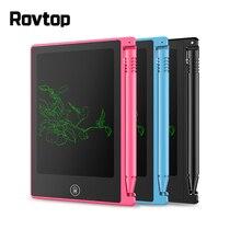 Rovtop креативное письмо и рисование планшет 4,5 дюймов блокнот цифровая ЖК-доска для рисования почерк доска объявлений для образования