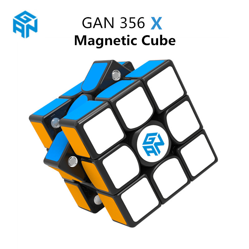 GAN 356 X Magnetic Magic Cubes Profissional Gan 356X Speed Cube Magnets Cube Puzzle GAN X Cubo Magico Gans356 X In Stock