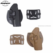 New Arrivals Military Tactical hunting holster CQC Belt airsoft gun Belt Holster for Glock 17 19 23 32 36 unbrand glock 17 18 19 23 32 36 tactical holster