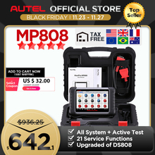 Autel MaxiPRO MP808 OBD2 Automotive Scanner OBDII Diagnose Tool Code Reader Scan Tool Schlüssel Codierung als Autel MaxiSys MS906 DS808