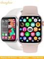 2021 женские умные часы IWO с Bluetooth, пульсометром, монитором температуры тела, мужские умные часы для iPhone, Xiaomi, Huawei, Samsung