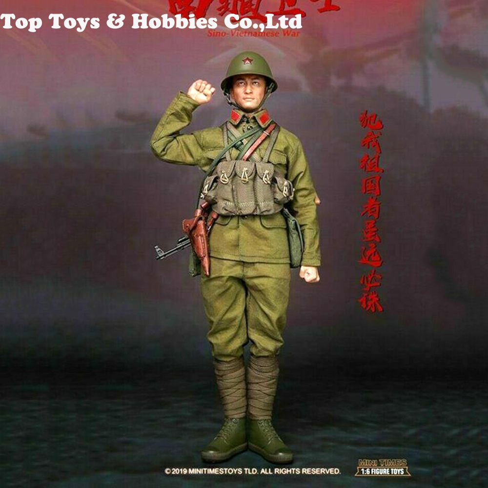 full set soldier figure 1/6 scale Mini times toys M015 PLA Sino-Vietnamese War Male Action Figure Model for fans collection toys