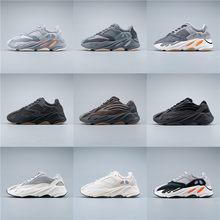 2020 Hot sprzedam Kanye 700 białe buty trendy przypadkowi mężczyźni buty wysokiej jakości buty plataforma pięciowarstwowa podeszwa zapatillas hombre