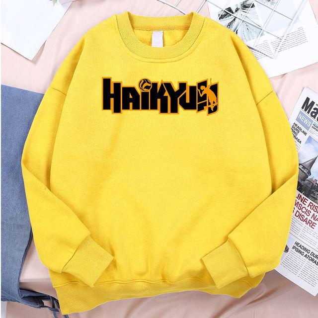 HAIKYU!! THEMED SWEATSHIRT (14 VARIAN)