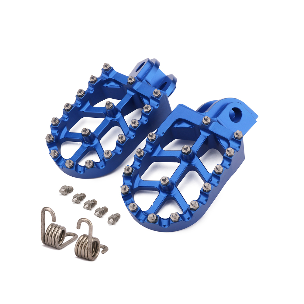 Motorcycle CNC Foot Pegs Pedals Rests Footpegs Footrest For Husqvarna TC TE FC FE FS 65 85 125 250 300 350 350S 450 501 501S