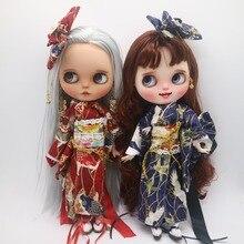 Одежда для кукол Blyth кимоно для куклы Blyth, японская Одежда для кукол