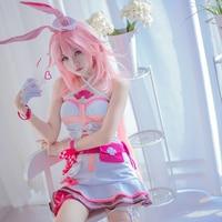 Anime Hot Game Honkai Impact 3rd Yae Sakura Cosplay Costume Sexy Nurse Uniform Free Shipping