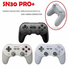 цена на 8Bitdo SN30 Pro SF30 Pro Gamepad for Nintendo Switch macOS Android Controller Joystick Wireless Bluetooth Game Controller