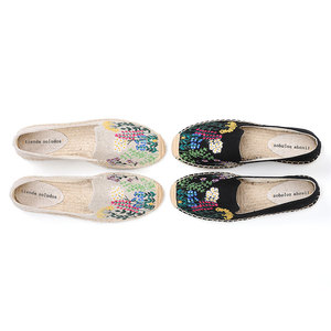 Image 3 - Tienda Soludos נעלי נשים שטוחות אופנה נוח נשים מזדמן 2019 אמיתי מיהר קנבוס Zapatillas Mujer Sapatos