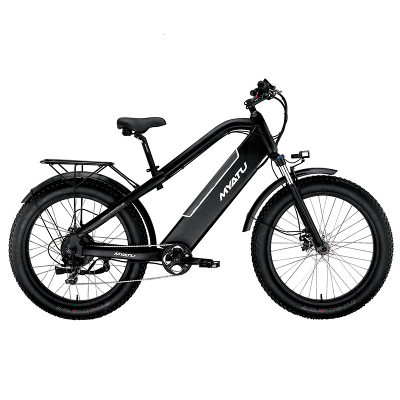 MYATULithium electric mountain bike one wheel bicycle rear shock absorber shock soft tail folding built-in 48v battery