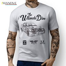 2019 Hot Summer Sale New Mens Top JL Ultimate American Car Sierra Cosworth RS500 Inspired Sporter Art Design T-shirt