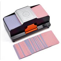 Board Game Professional Card Shuffler Decks High Speed Automatic Plastic Machine Playing Card Games Shuffler