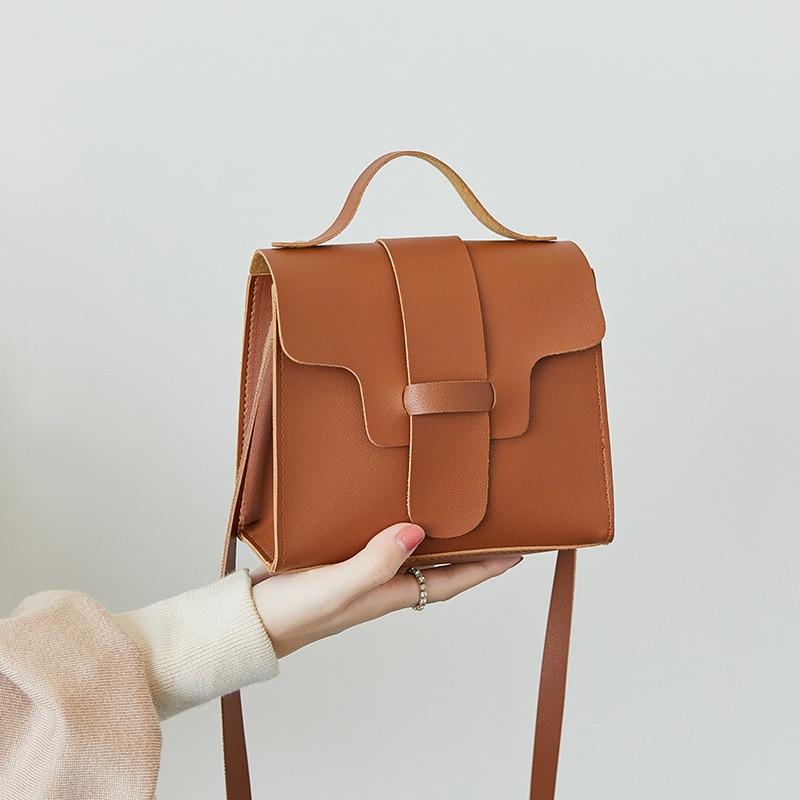 Luxury Handbags Women Bags Designer 2019 Casual PU Leather Messenger Bag Handbag Shoulder Bag Messenger Bolso Mujer