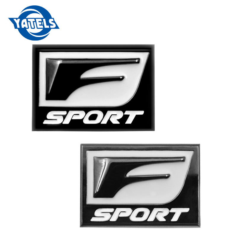 New F Sport 3D Metal Badge Decal Rear Trunk Emblem Sticker for <font><b>Lexus</b></font> IS ISF GS RX <font><b>RX350</b></font> ES IS250 ES350 LX570 CT200 Car Stickers image