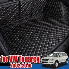 Багажнике лоток протектор для пола для Volkswagen VW Touareg 2002-2010 Коврики для багажника коврик в багажник коврик для багажника коврик 2005 2006 2007 2008 2009