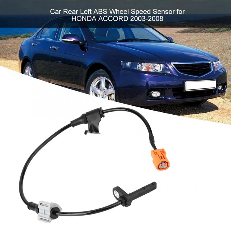 2pcs ABS Speed Sensor Front Right /& Left For Acura TSX 04-08 Honda Accord 03-07